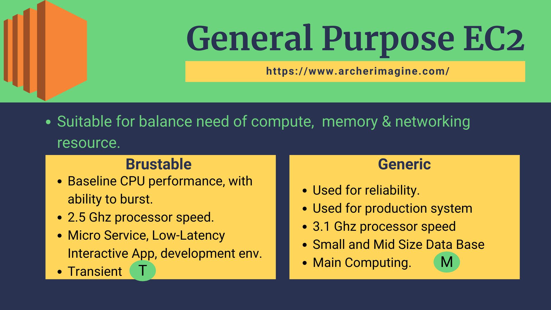 AWS Made Easy | AWS EC2 | General Purpose Instance Property