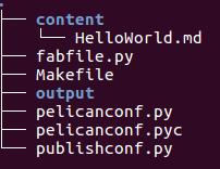 pelicanFolderStructure